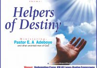 November 2016 Holy Ghost Service – Text & MP3