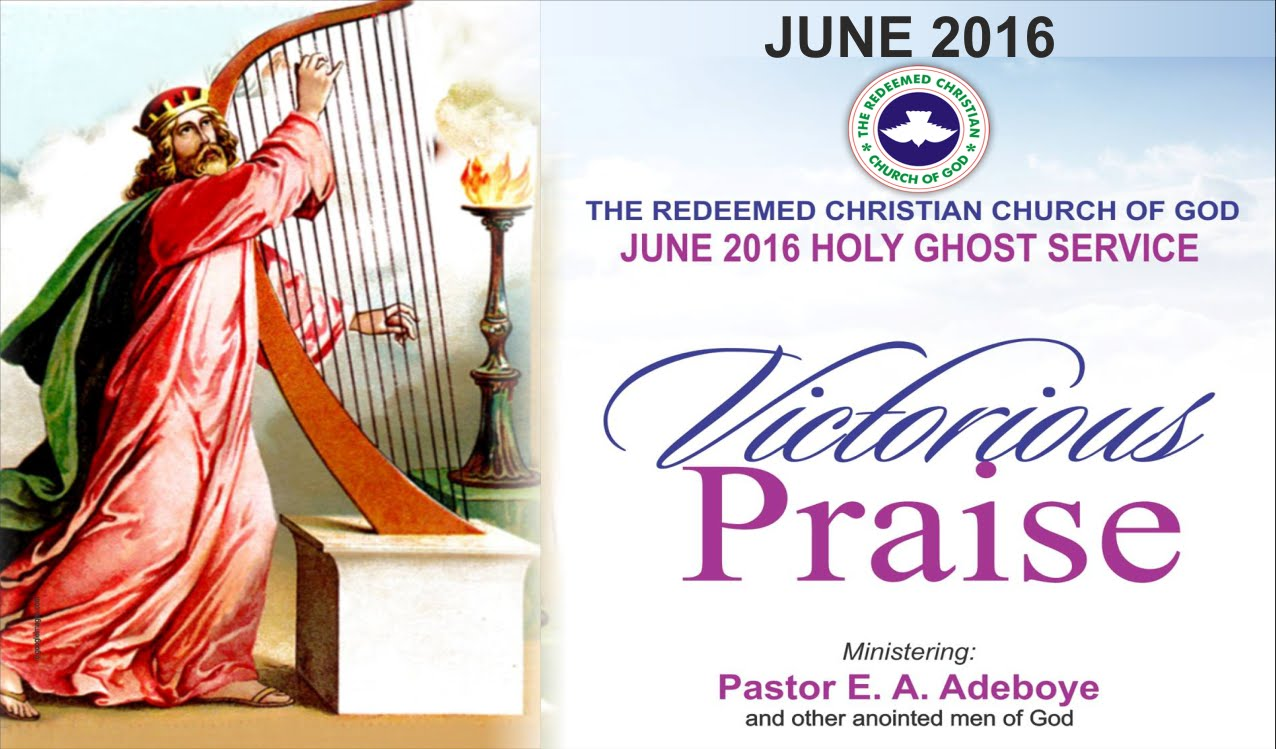2016 June Holy Ghost Service