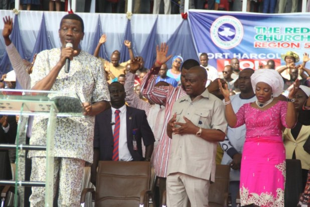 Pastor E.A Adeboye ministering at 2017 RCCG Port Harcourt Holy Ghost Rally, The Almighty
