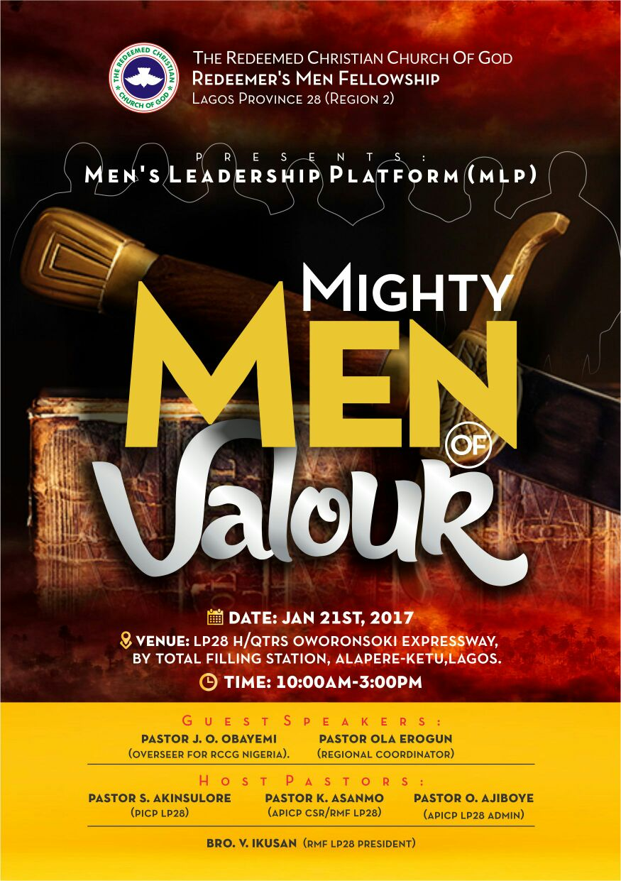 LP 28 RMF INVITES YOU - Mighty Men of Valour