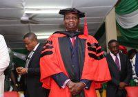 Conferment of Honourary Degree to Pastor E. A. Adeboye by University Of Nigeria, Nsukka.