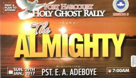 2017 RCCG Port Harcourt Holy Ghost Rally