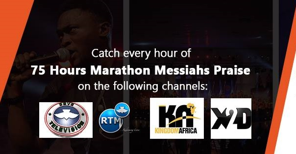 Watch 75 hours Marathon Messiahs Praise Live!