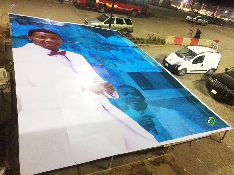 Pastor E.A Adeboye's 75th Birthday Card Broke the Guinness World Record