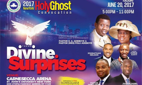RCCG New York Holy Ghost Convocation 2017 – Divine Surprises