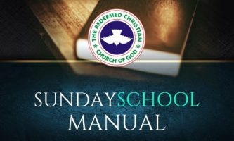 RCCG SUNDAY SCHOOL MANUAL LESSON 11:  THE BAPTISM OF THE HOLY SPIRIT