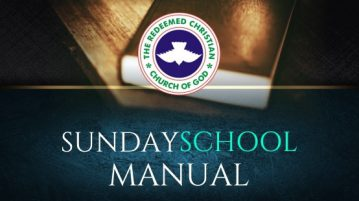 RCCG SUNDAY SCHOOL MANUAL LESSON 6