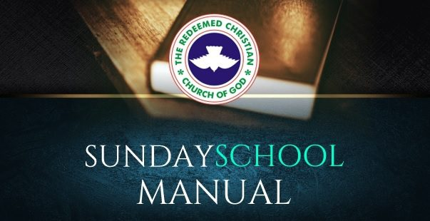 RCCG SUNDAY SCHOOL MANUAL LESSON 12: THE ANOINTING OF THE HOLY SPIRIT