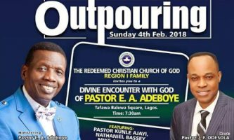 Special Live broadcast – The Outpouring 2018