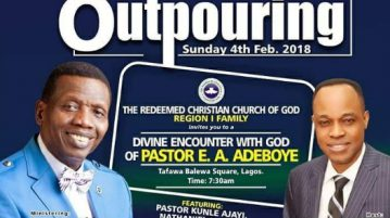 The Outpouring 2018