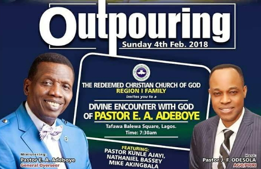 Special Live broadcast - The Outpouring 2018