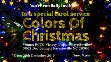 RCCG Victory Temple 3062 Doc Bennett Rd Fayetteville, NC 28360